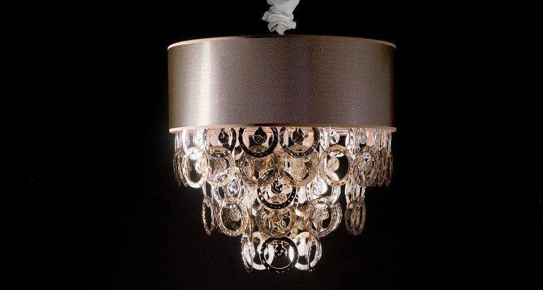 Lampadario stile barocco moderno beautiful lampadario foglia oro