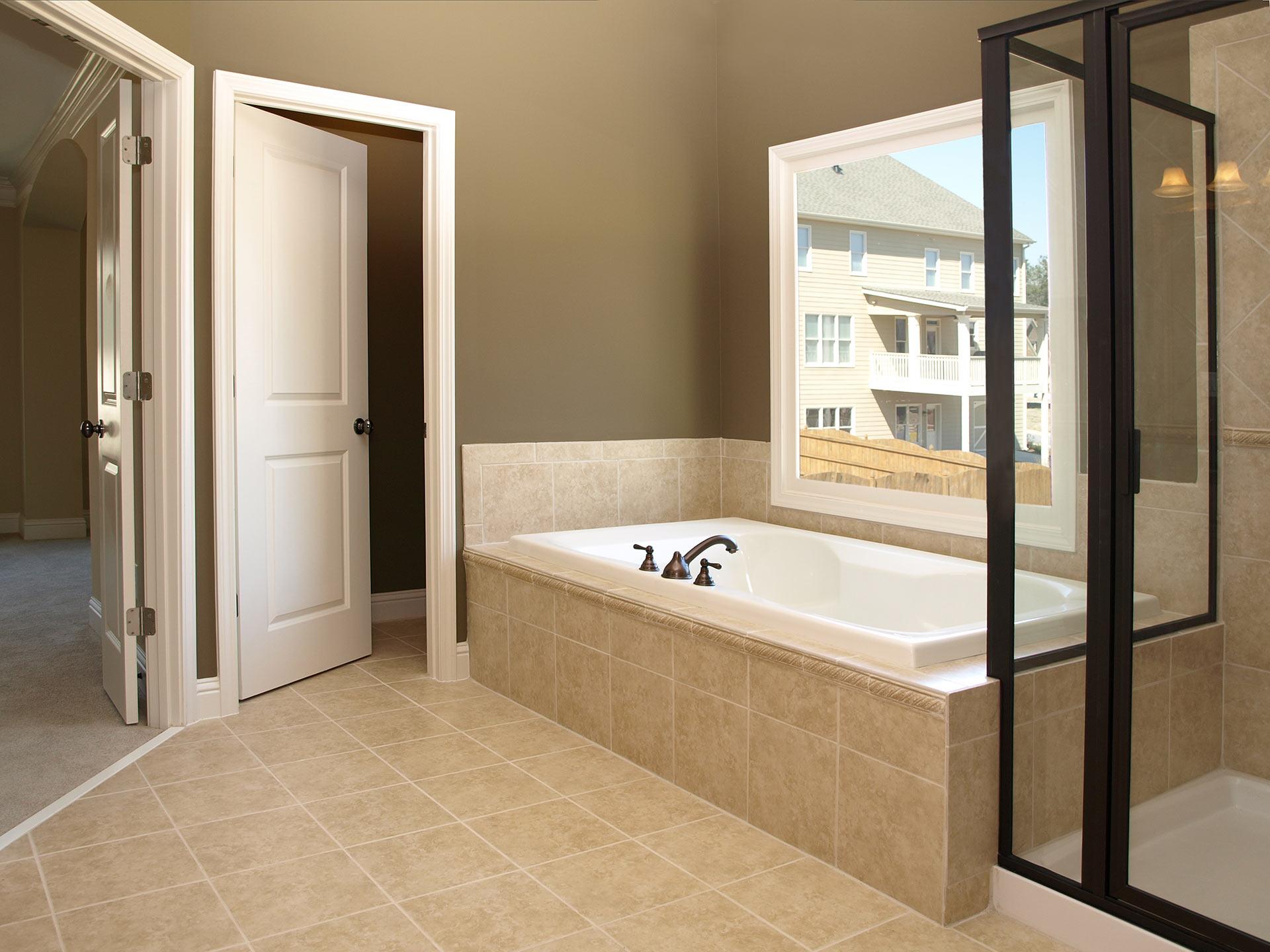 Ванная комната двери установка своими руками