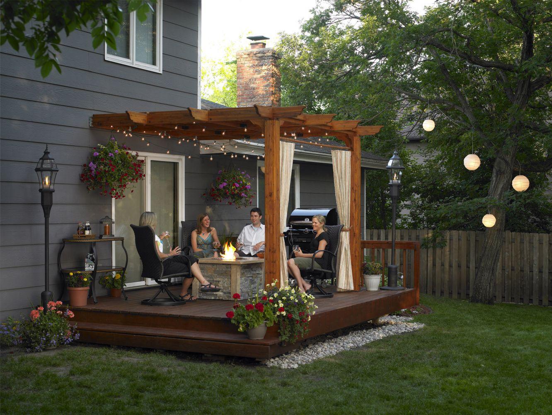Как красиво оформить полянку перед домом? - ответы экспертов 58