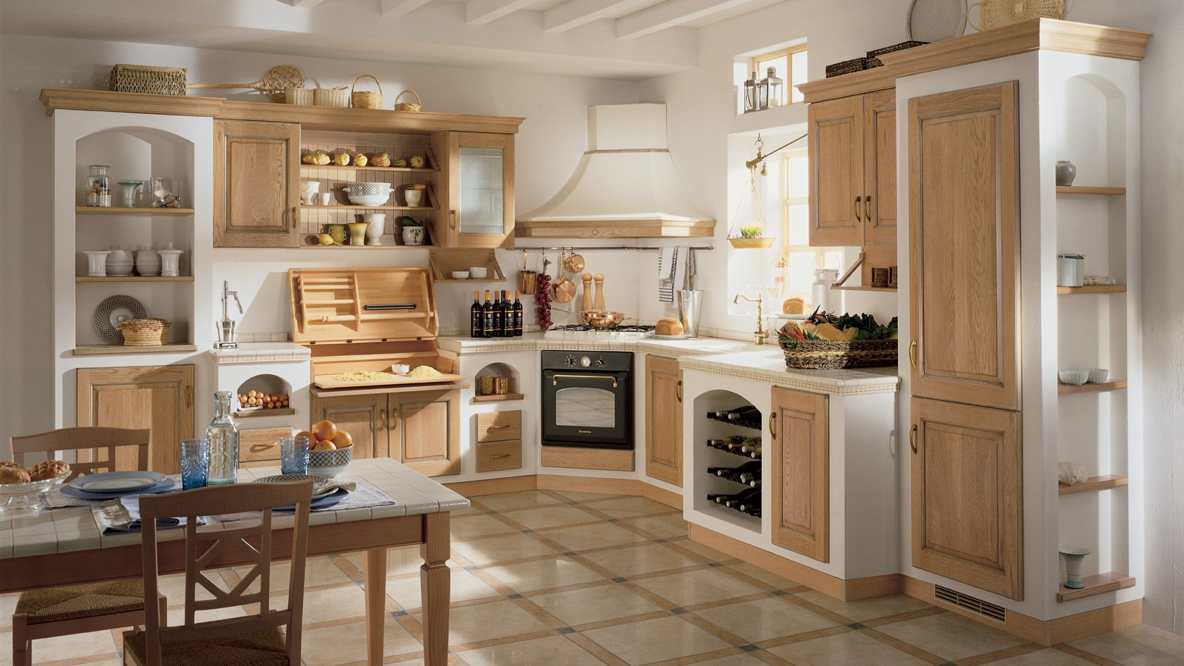 Le piu belle cucine in muratura moderne
