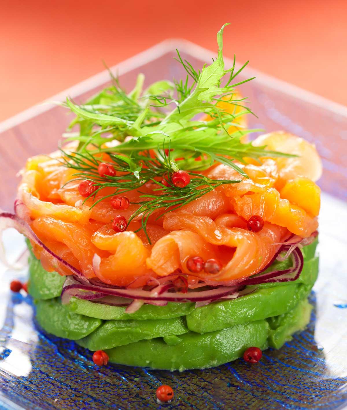 Салат из форели рецепт очень вкусный 87