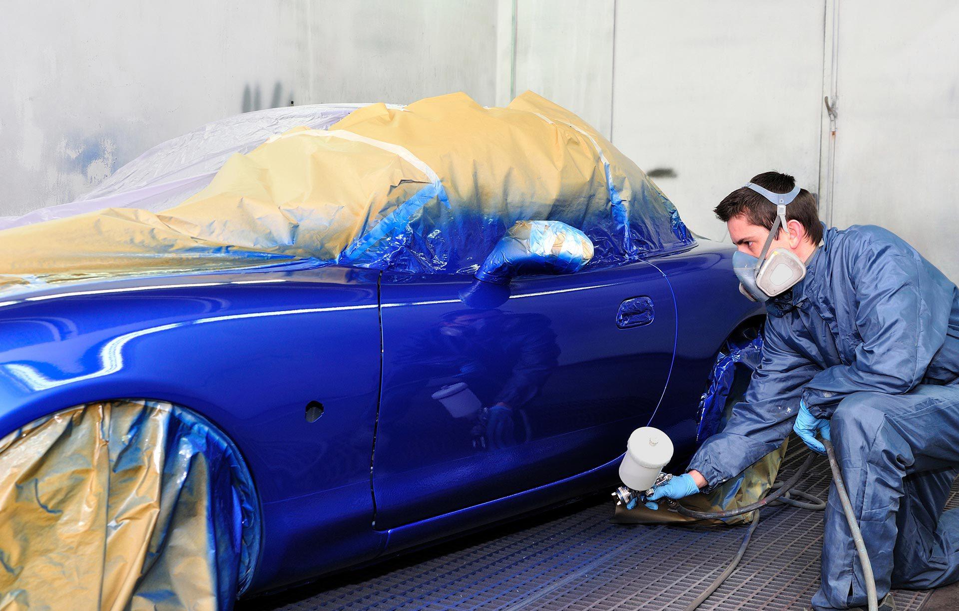 Раскрасить авто своими руками