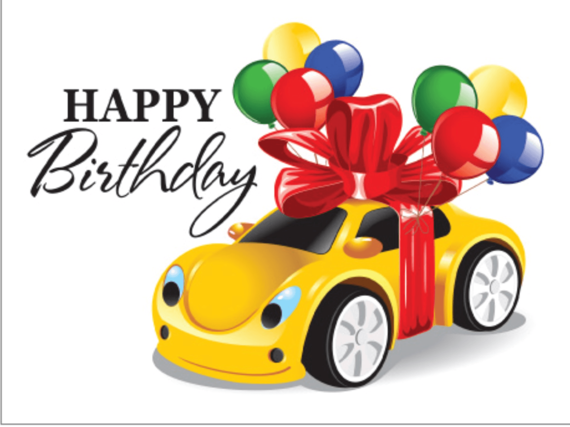 Поздравление с покупкой машины - Поздравок 2