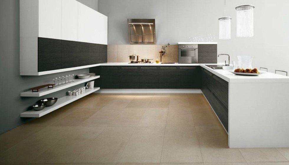 Cucine Bianche E Grigie. Awesome K Cucina Bianco E Grigio Interni ...