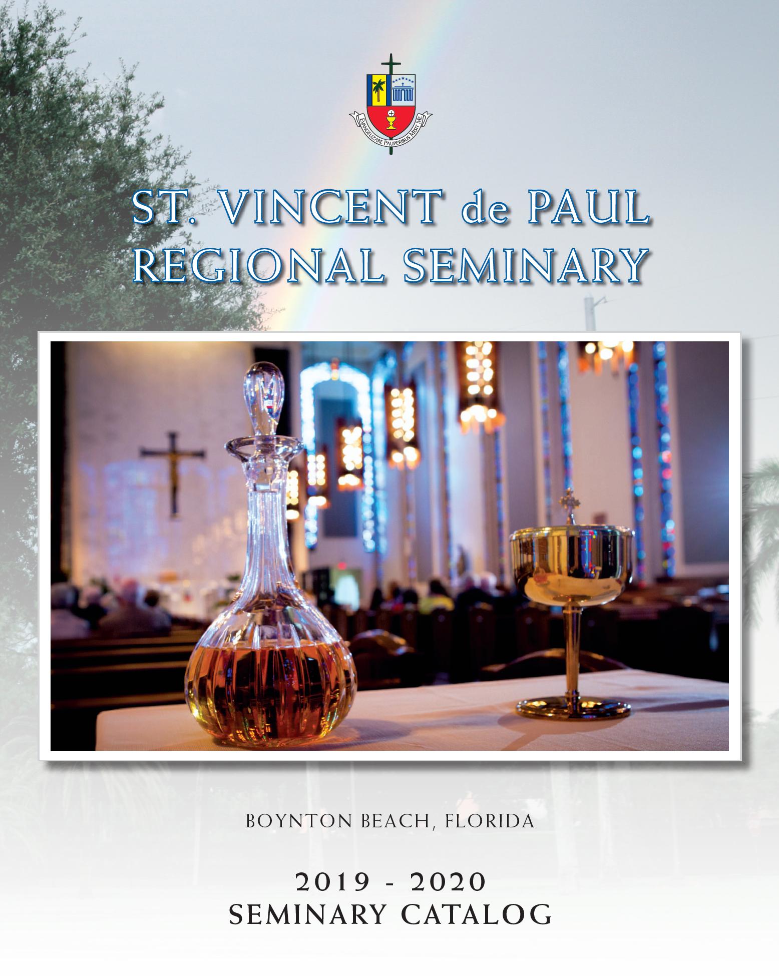 神学院目录的封面