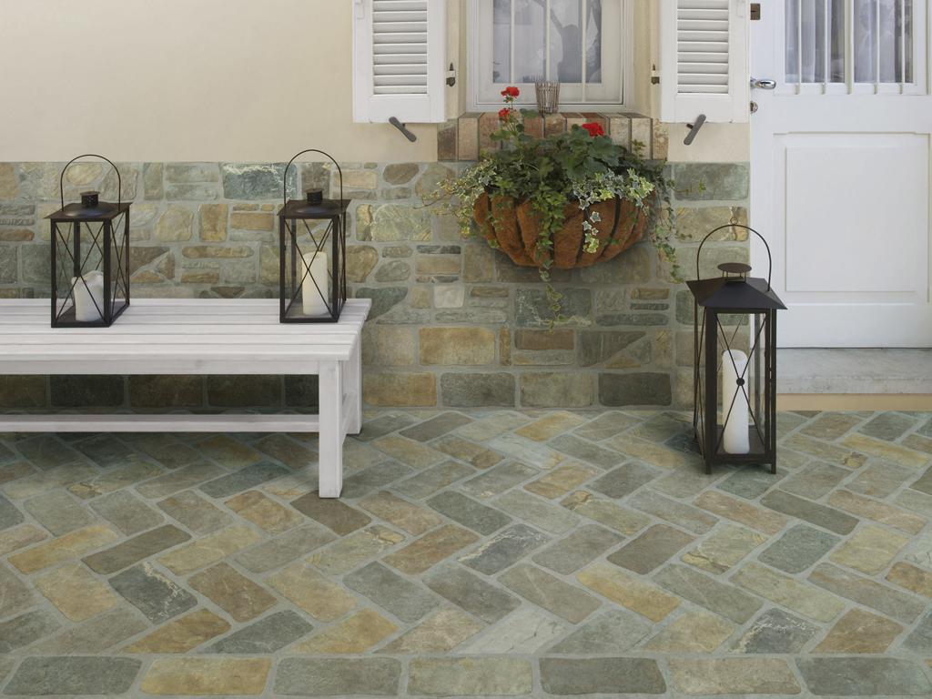 Piastrelle decorate per esterno cool pavimento rustico per
