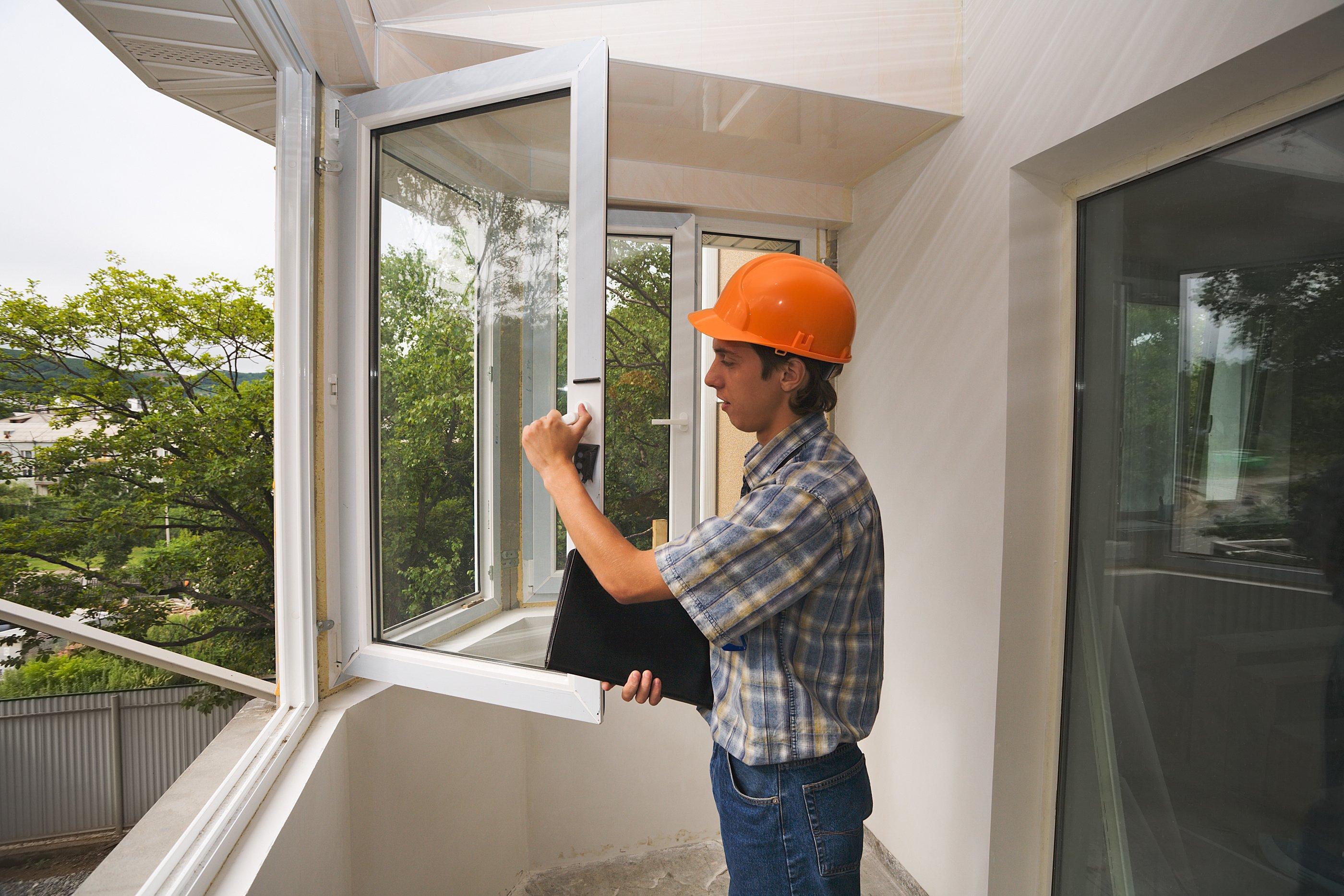 Установка пластиковых балконных окон своими руками.