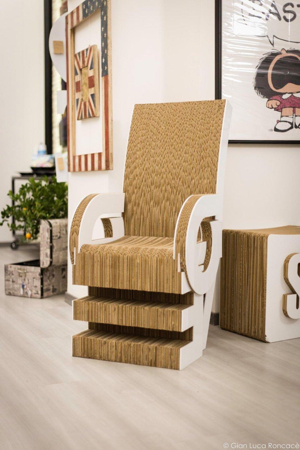 oggetti d arredo particolari trendy scale in legno with