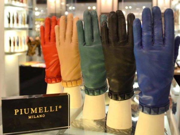 Vendita guanti in pelle da uomo