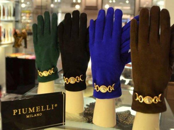 Vendita guanti in pelle da donna