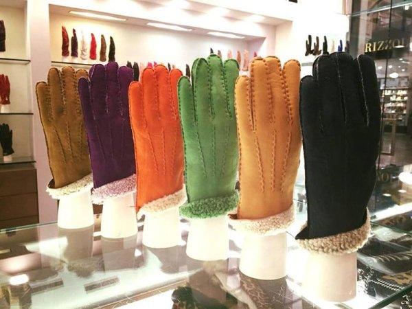 Vendita guanti di pelle