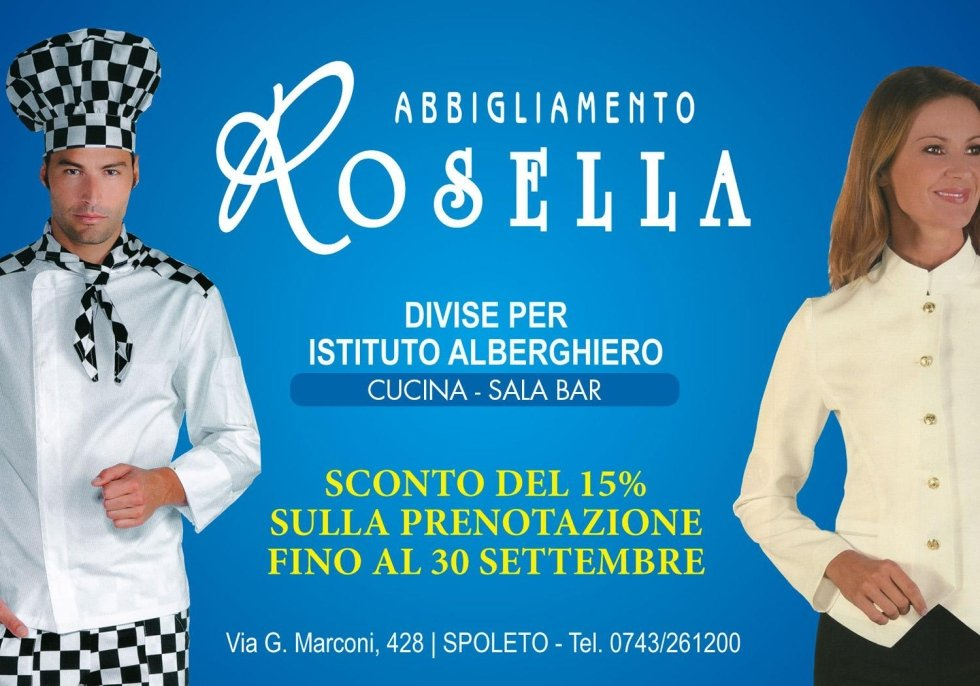 accessori abiti professionali - Spoleto - Rossella Abbigliamento b2c31398b9fa