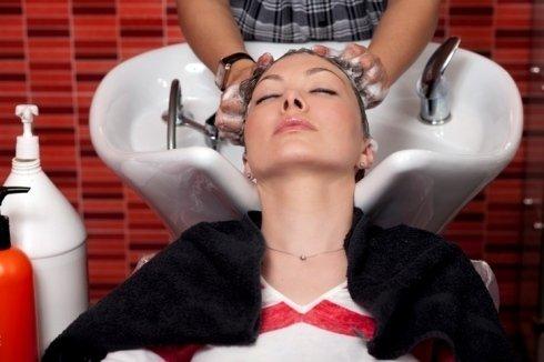 shampoo e lavaggio capelli