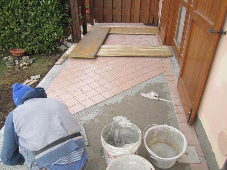 cemento muratura lavori in corso