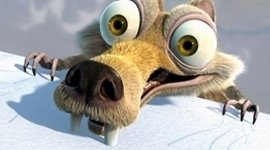 cartone animato con denti sporgenti