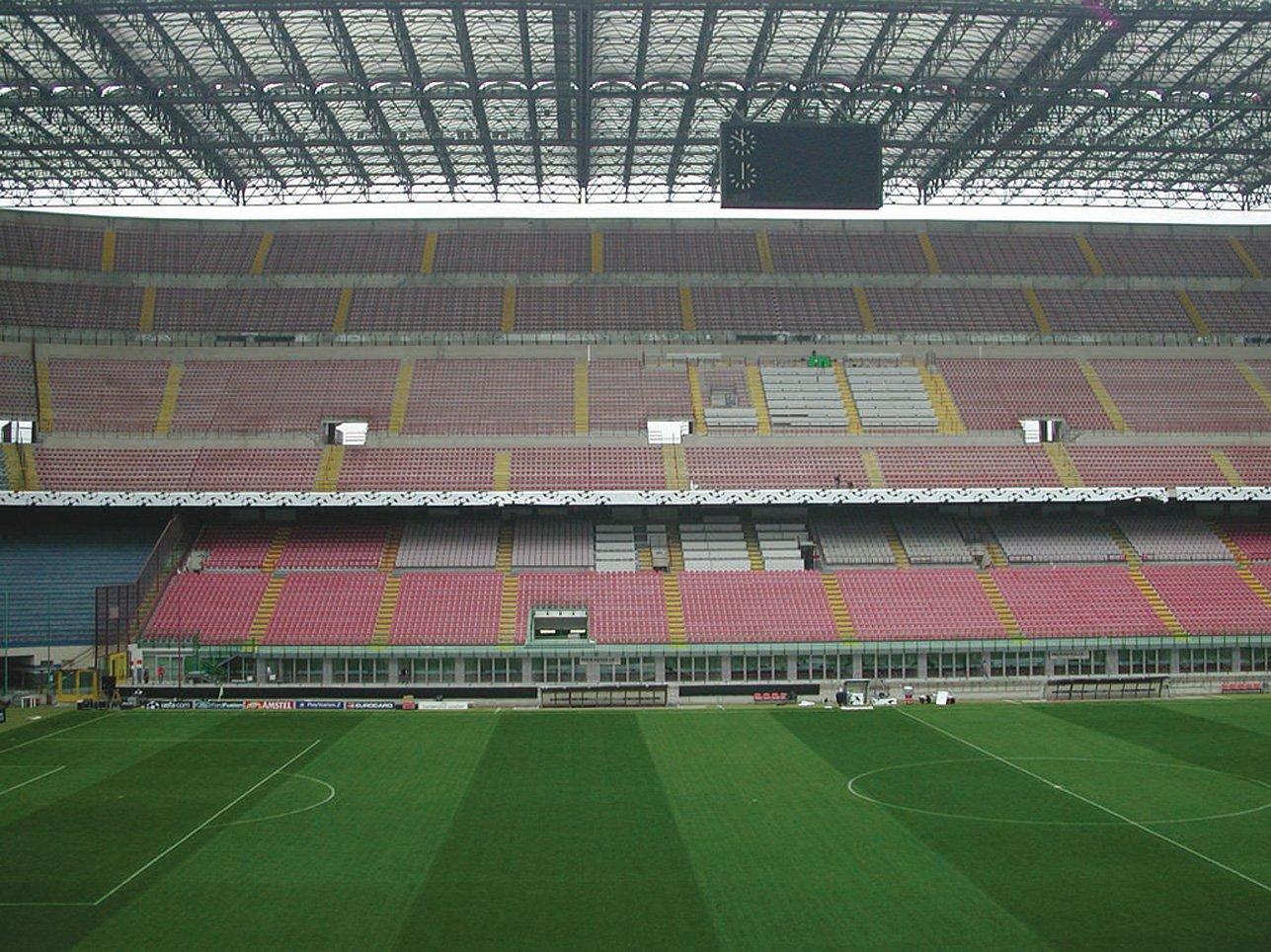 Sala Stampa zona VIP - Stadio San Siro (MI)