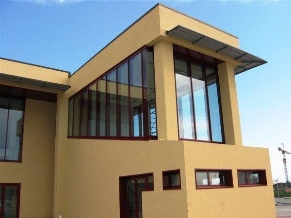 edificio beige