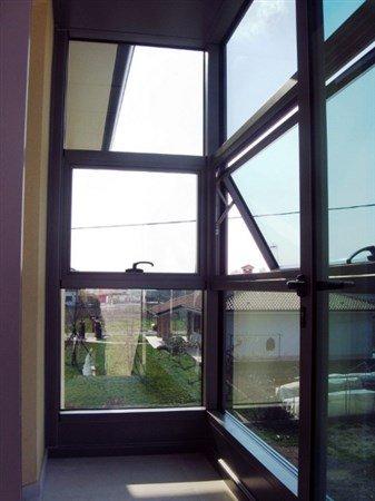 vetrata di un edificio