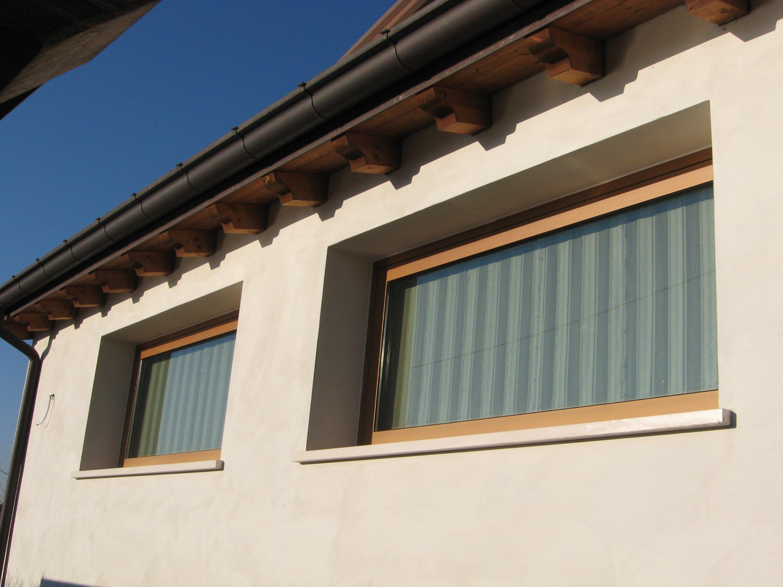 finestre forma rettangolare