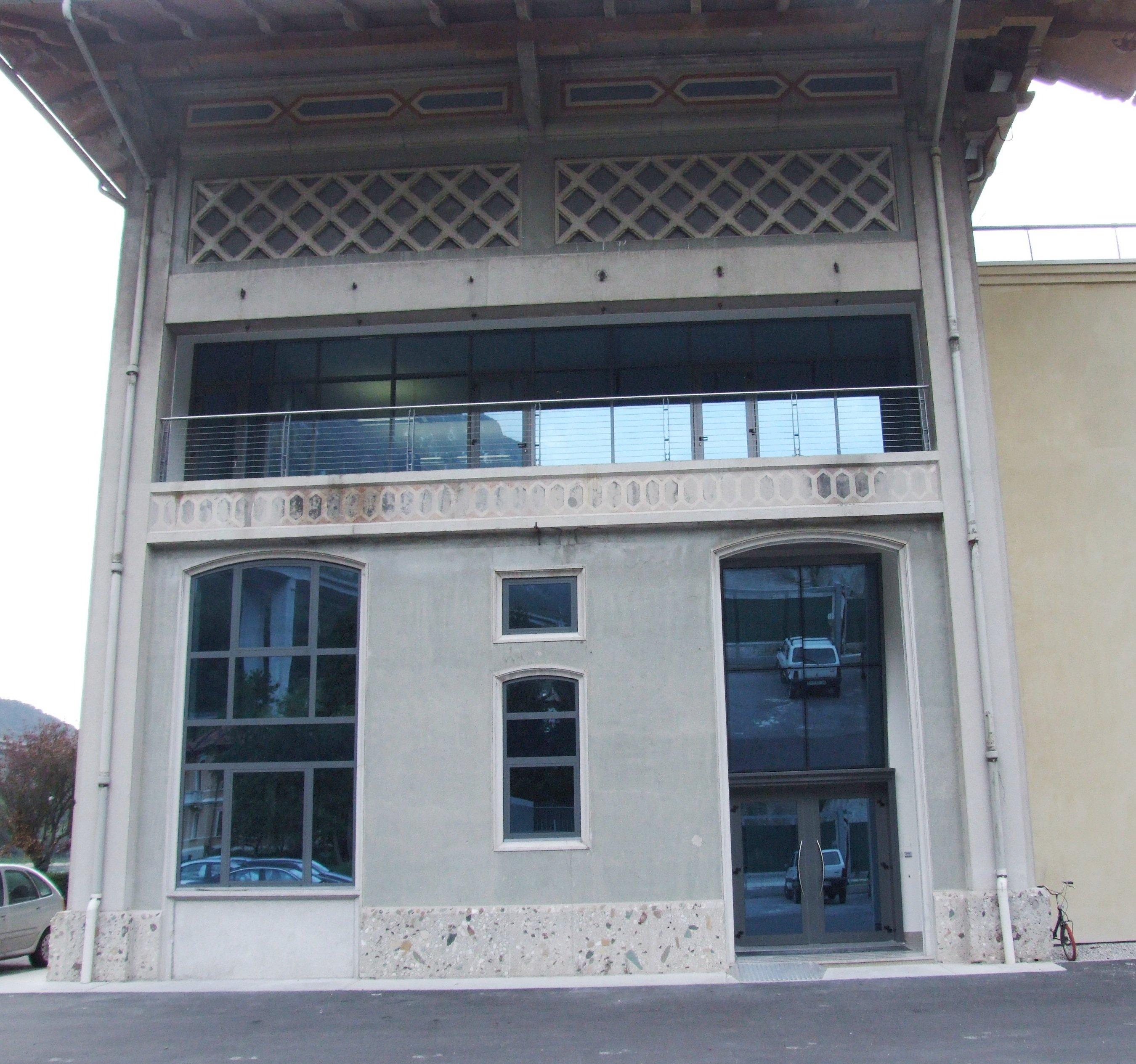 facciata centrale ENEL