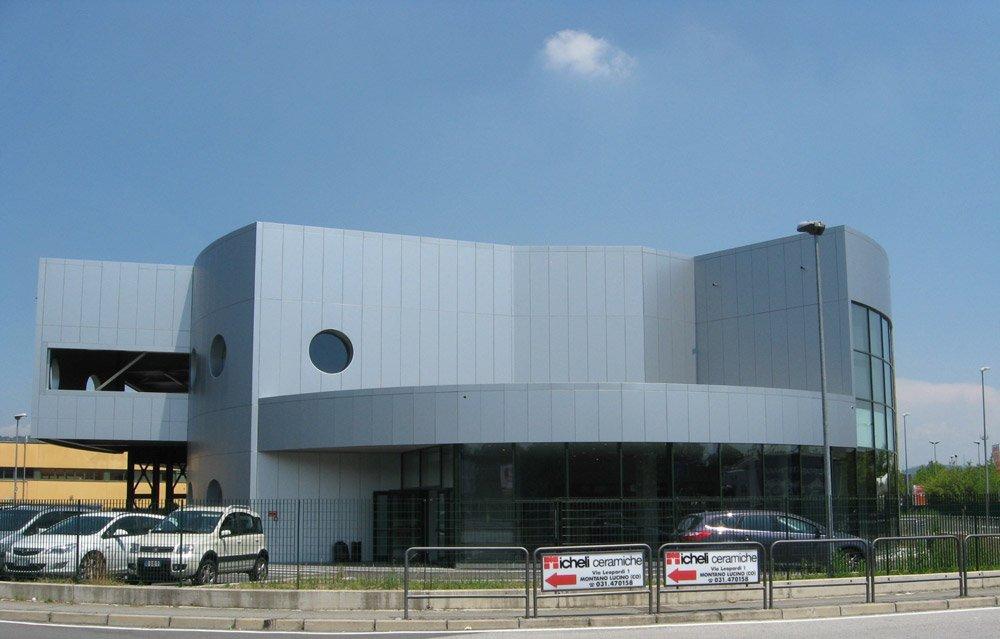 pannelli compositi per realizzazione di un edificio