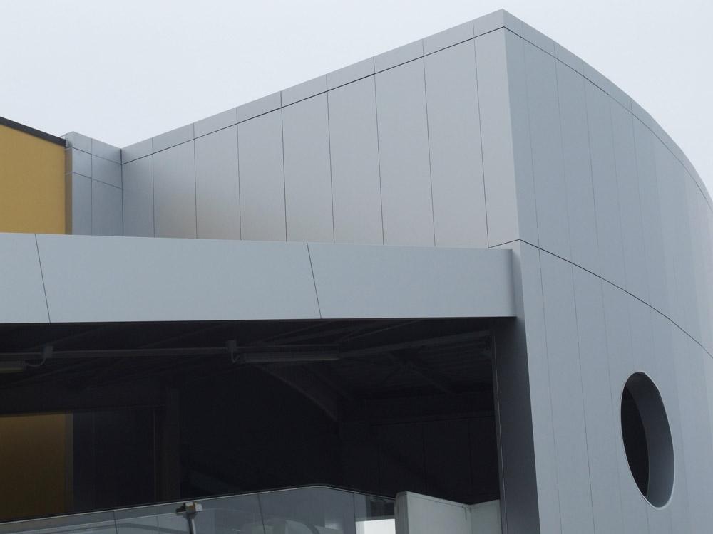 facciata esterna di un edificio