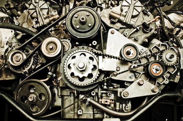 ingranaggi motore auto