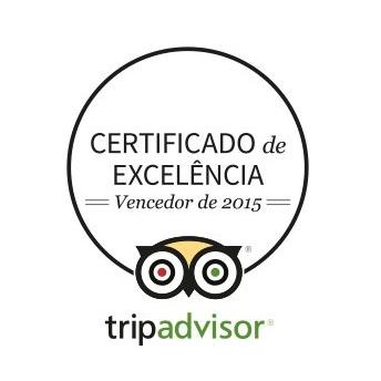 O Chez Maria recebeu o certificado de excelência do tripadvisor em 2015, atestando o compromisso do nosso restaurante em satisfazer nossos clientes e sermos um dos melhores restaurantes de São Paulo!