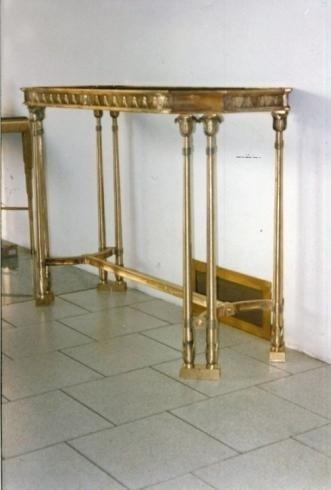 Tavolini lavorati in ferro battuto