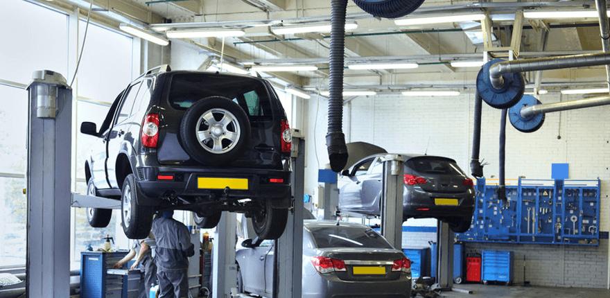 Vehicle garage services
