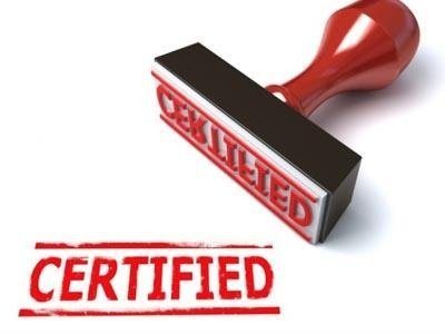 certificazione regolarità pubblicità