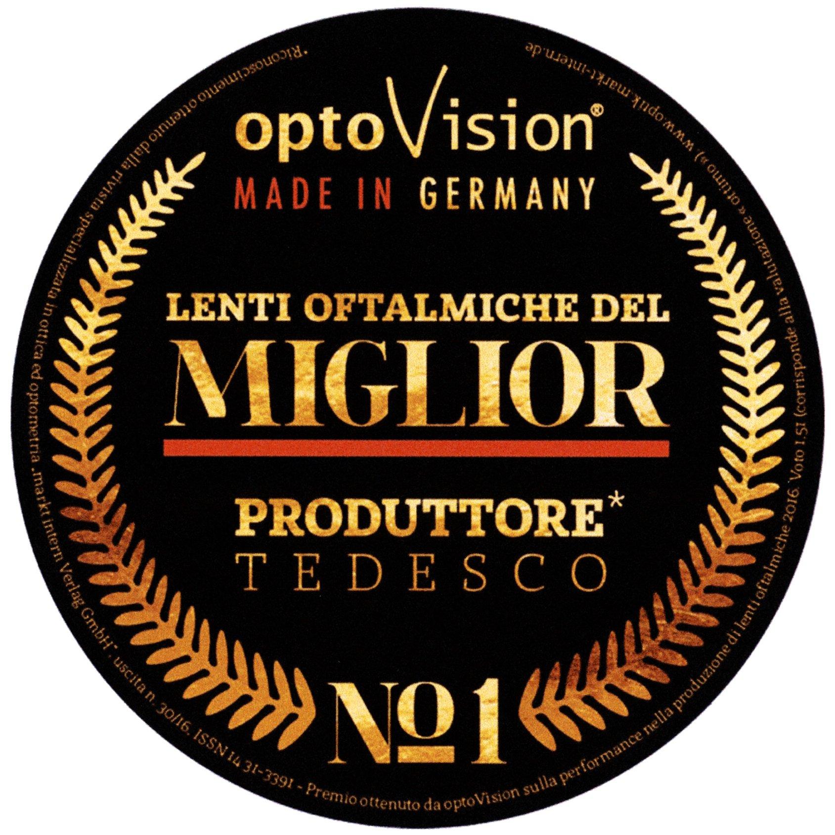 OptoVision miglior produttore tedesco di lenti oftalmiche