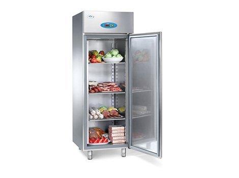 frigorifero in acciaio per conservazione alimenti