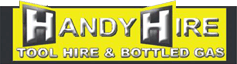 Handy Hire - Tool Hire & Bottled Gas Logo