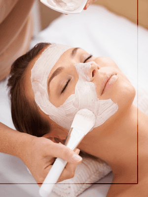 Face pack application