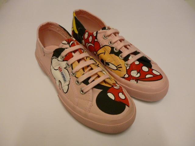 Scarpe da ginnastica con il disegno da Minnie