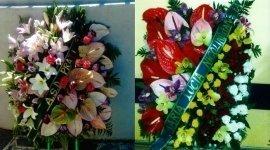 addobbi, fiori, corone funebri