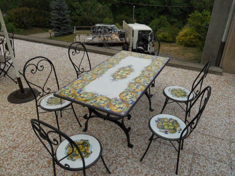 tavolino artigianale piccolo