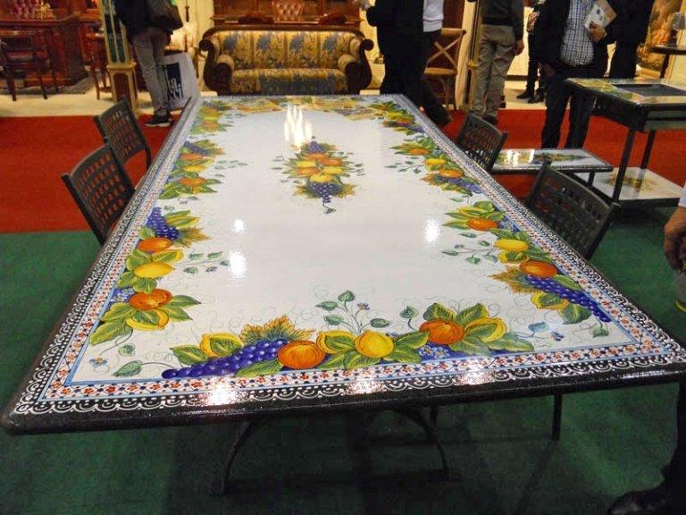 pietra lavica per tavoli su misura