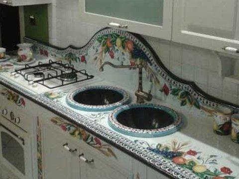 Realizzazione cucine in muratura - Catania - Euro Lavic