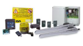 bracci idraulici per cancelli, lampeggianti per cancelli, telecomandi per cancelli