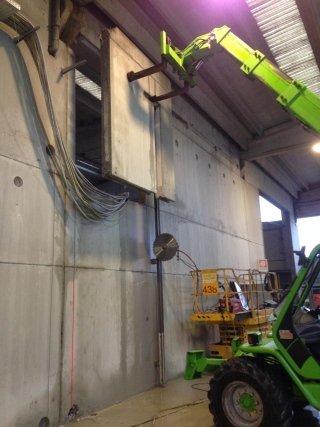 movimentazione blocchi cemento