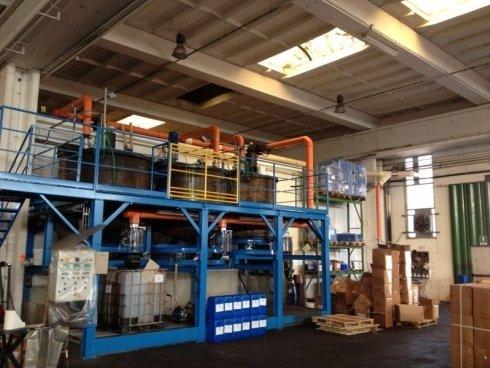 Impianto aspirazione vapori corrosivi