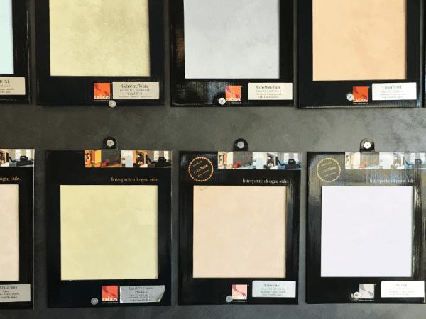 Colori personalizzati e miscelatore per colori