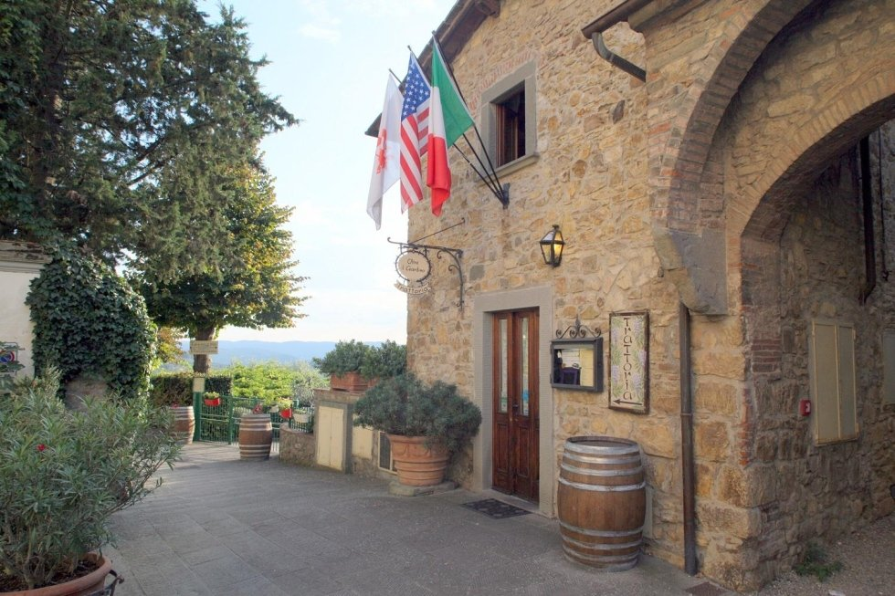 Traditional Tuscan restaurant