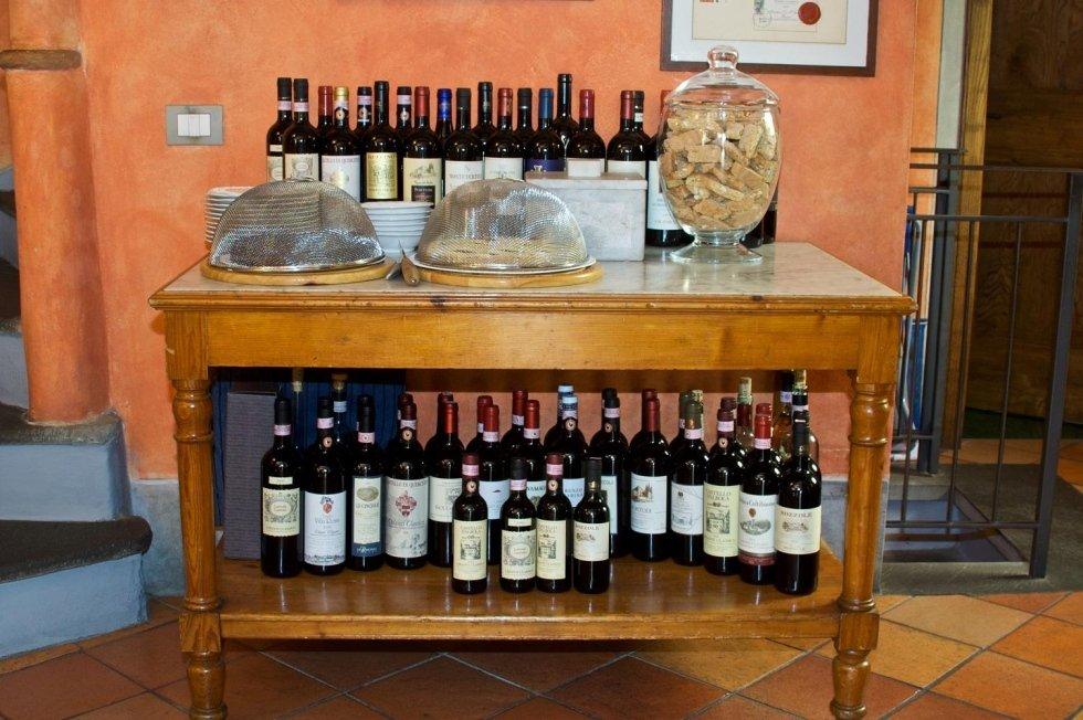 Carta dei vini selezionati