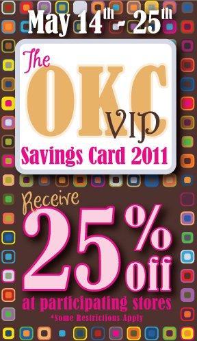 OKC VIP Card
