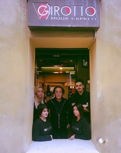 Lo staff Girotto Moda Capelli Treviso