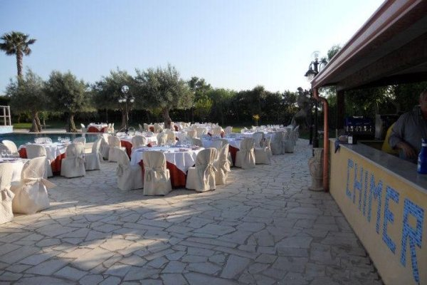 sala ricevimenti villa Chimera