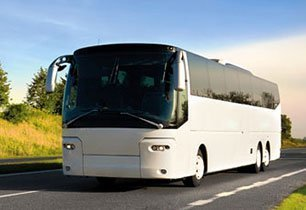 Luxurios travel coach